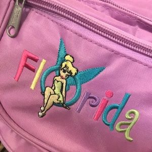 Disney Bags - Florida Disney Tinkerbelle Fanny Pack Bag